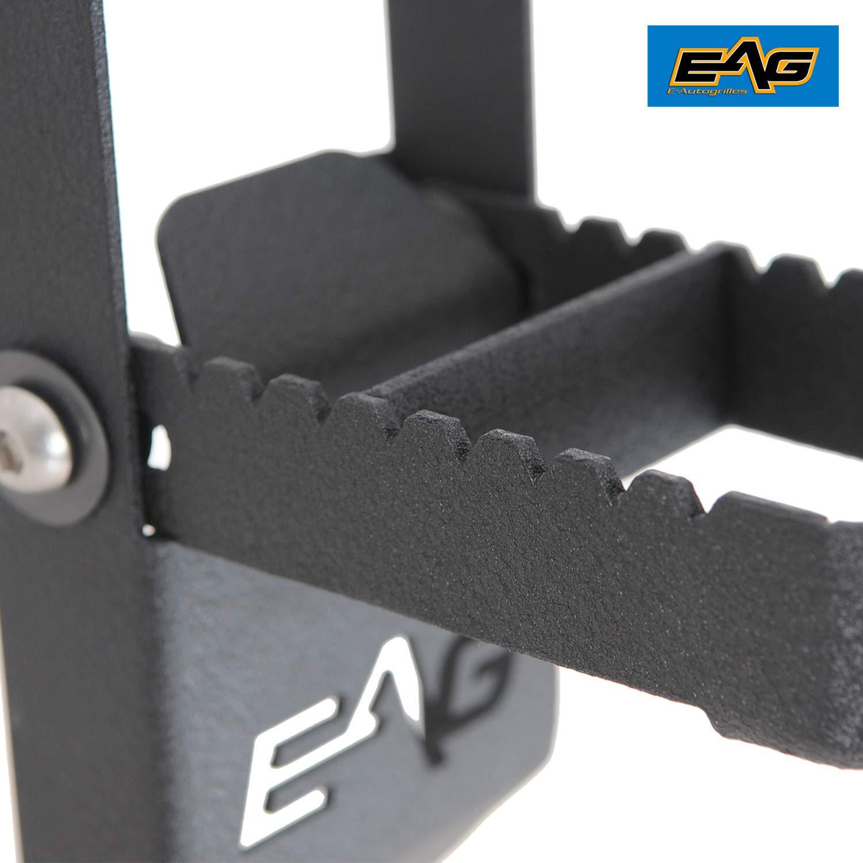 EAG Door Hinge Step Metal Folding Foot Peg Fit for 07-18 Jeep Wrangler JK 1PC