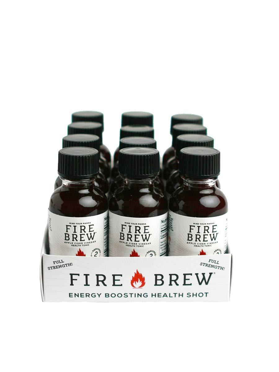 Fire Brew Apple Cider Vinegar Based Beet Health Tonic, 12/ 1 oz Bottles by Fire Brew