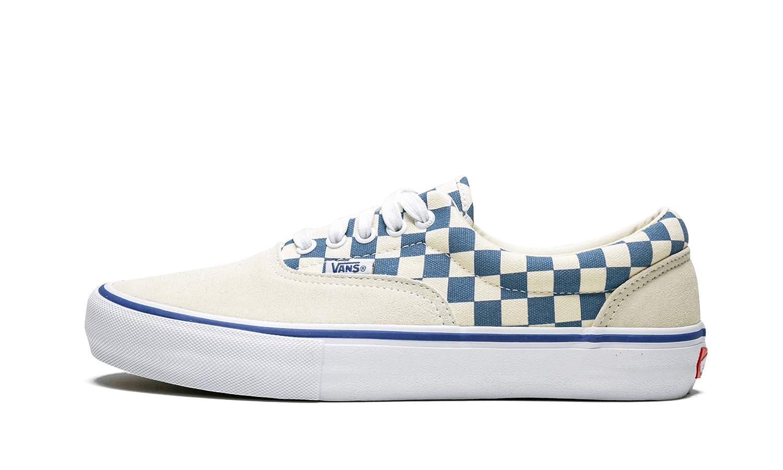 Vans Era Pro Checkerboard Checkerboard Checkerboard beige blau Herren Turnschuhe Weiß Blau Ashes Checker a7f377