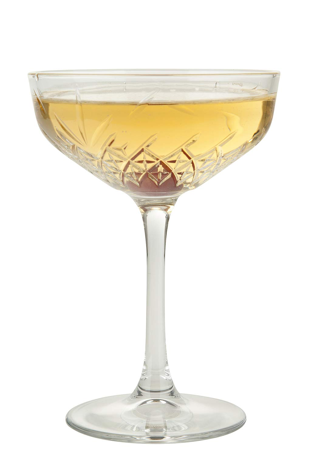 Pasabahce Premium Cocktail Coupe, Martini Glass 9 oz   Margarita   Decorative, Elegant, Rustic Vintage   Set of 4