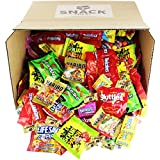 sour candy mix - Assorted Candy Party Mix Bulk Twizzlers Nerds Swedish Fish Sour Patch Skittles Starburst and Much More of Your Favorite Candy. Over 200 Individually Wrapped Candy (90 oz)