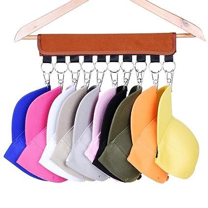 118372ec510 Amazon.com  LEKUSHA Cap Organizer Hanger
