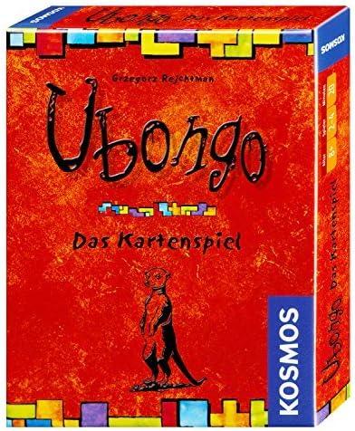 KOSMOS Ubongo Kartenspiel 2 - 4 Spieler, ab 8 Jahren (740214) by Kosmos Verlags-GmbH & Co: Amazon.es: Juguetes y juegos