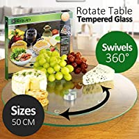 Lazy Susan Tempered Glass 50 cm