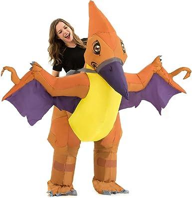 Amazon.com: Disfraz de dinosaurio inflable Hsctek para ...