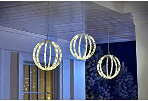 Home Accents Holiday 6.5 ft. 120-Light LED Multi-Color Warm White Twinkling Spheres String Light TY053-1918