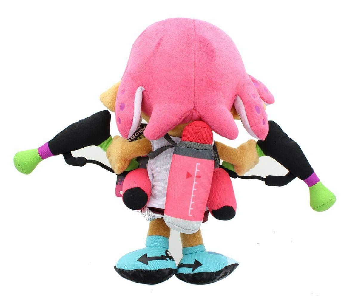 Little Buddy 1660 Splatoon 2 Series Inkling Girl Neon Pink 9.5 Plush