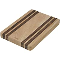 ACADEMY Faulkner Rectangular Butchers Board, Mango Wood/White Siris Wood, ACA0185