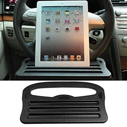 Steering Wheel Desk Eating Laptop Tablet Notebook Car Travel Table Portable Mount Tray Auto Accessories Automobiles & Motorcycles