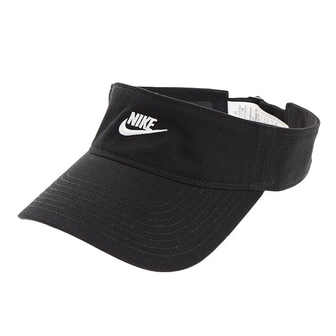 Nike Visera Sportswear Negro/Blanco Talla: Ajustable