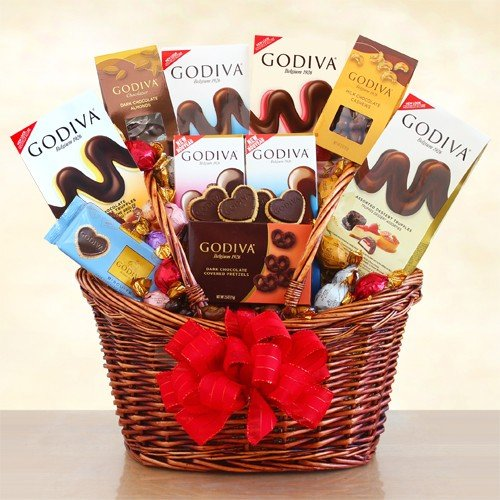 Godiva Chocolate Premium Gift Basket by Redd Barn