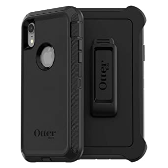 Otter Box Defender Series Case For I Phone Xr   Retail Packaging   Black by Otter Box