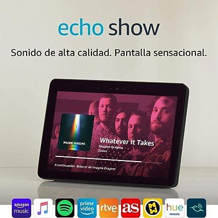 Echo Show (2.ª generación) – Mantén el contacto con la ayuda de ...