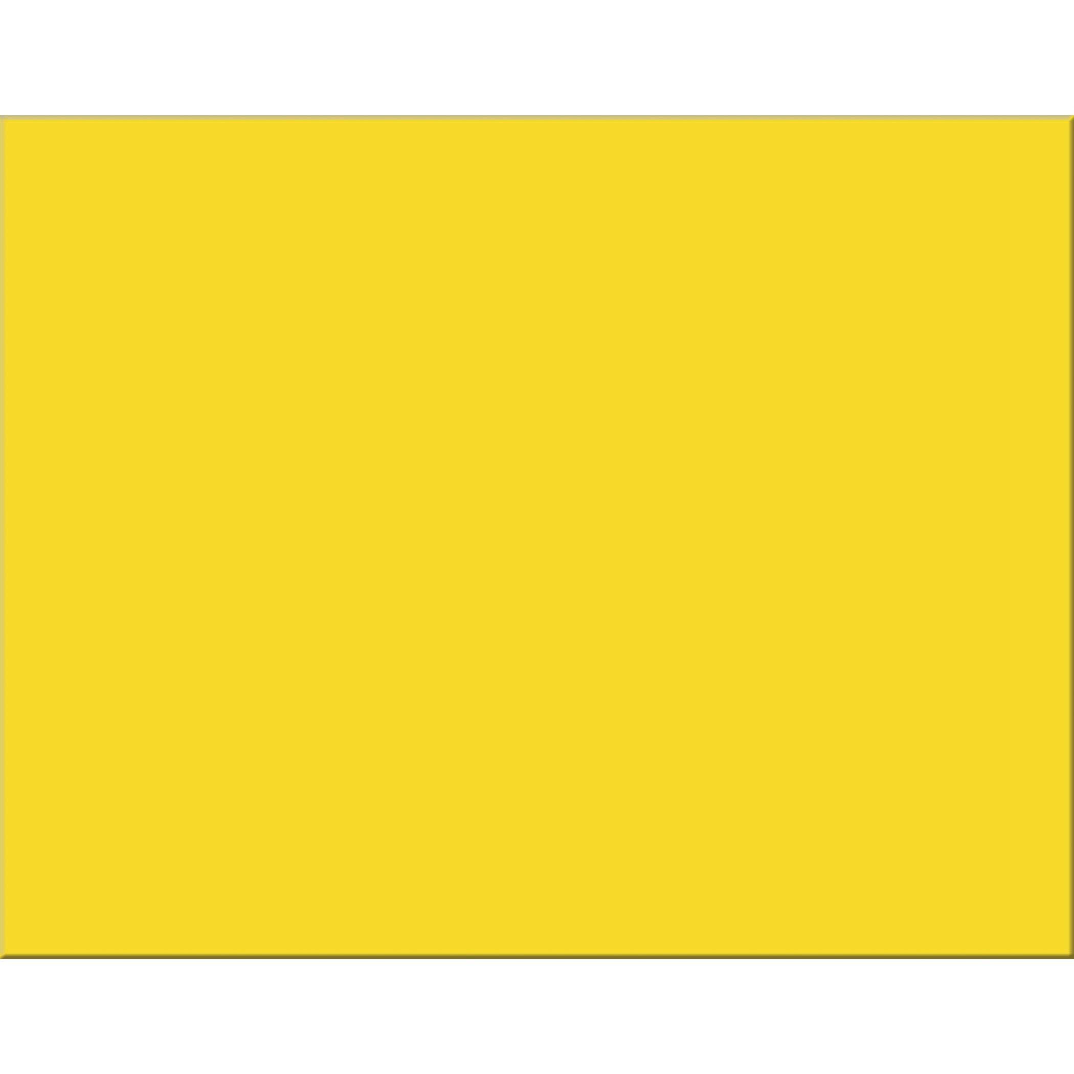 Pacon PAC54721 4-Ply Railroad Board, Lemon Yellow, 22'' x 28'', 25 Sheets