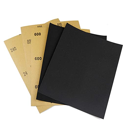 SeaboteK 80 To 3000 Assorted Grit Sandpaper for Wood Furniture Finishing Metal
