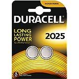 Duracell Batteria Specialistica a Bottone 2025 al Litio, confezione da 2
