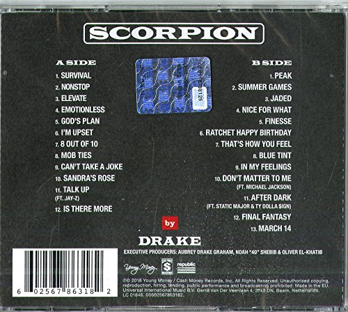 drake scorpion album tracklist mp3 download