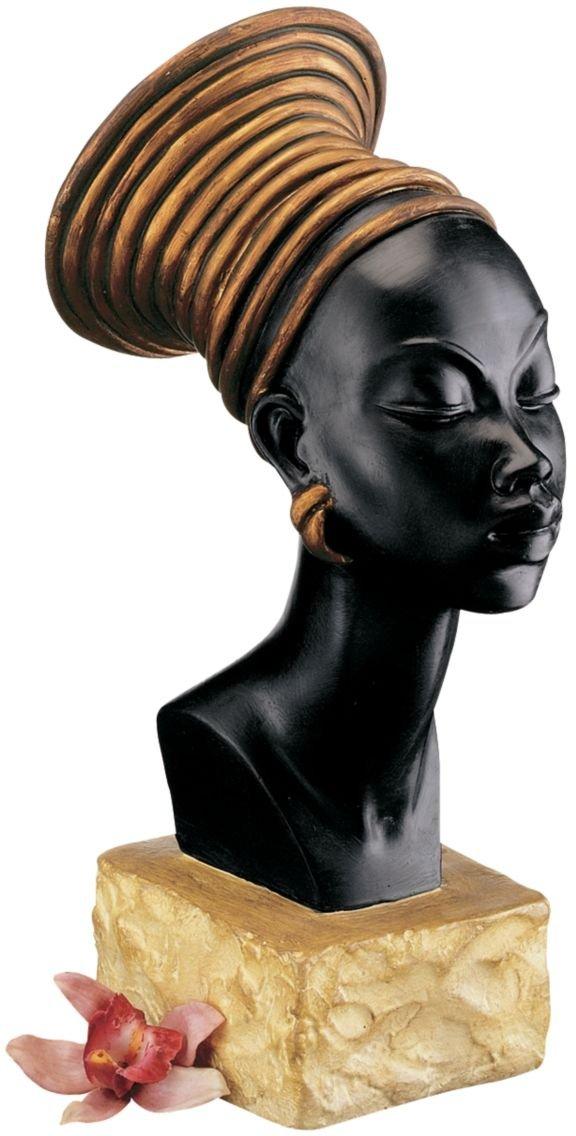 XoticBrands 13 Candace Kandakes of Kush Nubian Women Warrior Sculpture Statue Bust