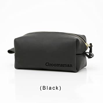 212381e6079d Amazon.com   Personalized Leather Toiletry Bag