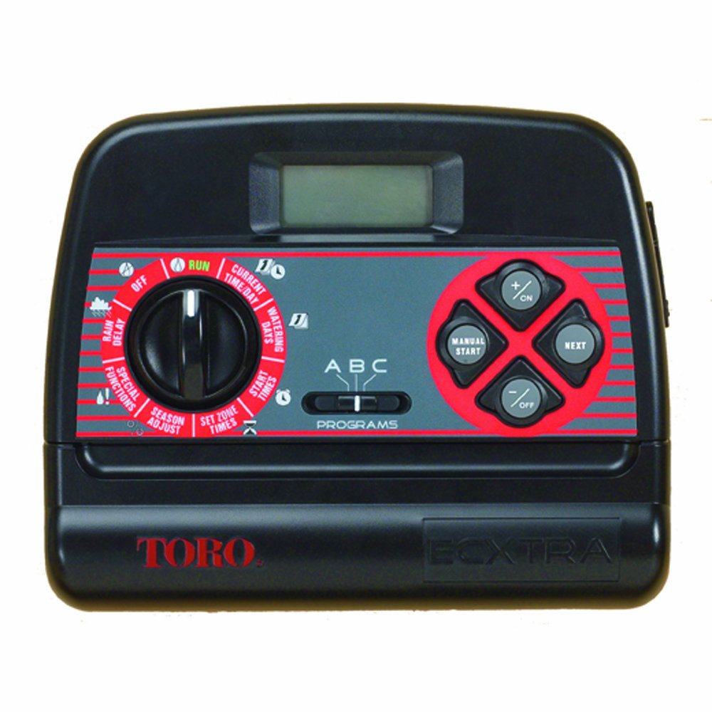 Toro 53794 ECXTRA 6-Zone Indoor Timer, Bonus-Pack by Toro
