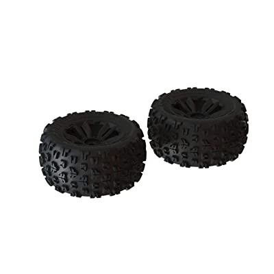 ARRMA 1/8 dBoots Copperhead2 MT Front/Rear 3.8 Pre-Mounted Tires, 17mm Hex, Black (2), ARA550059: Toys & Games