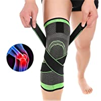 Rodilleras, Delaman 3D Weaving Sport Presurización Rodillera Soporte Foot Care Guard Brace Lesión Presión Protector Knee Sleeve
