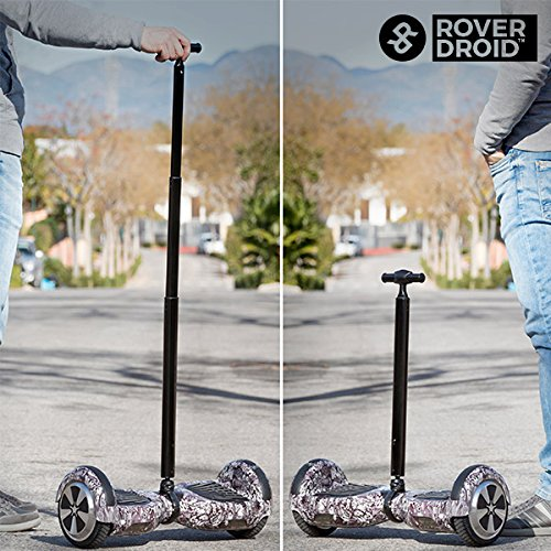 qtimber Manillar para Scooter Eléctrico Rover Droid Pro·Rod ...
