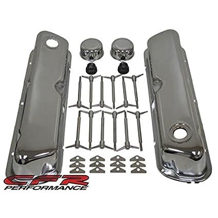 amazon com 1962 85 ford small block 260 289 302 351w chrome steel1962 85 ford small block 260 289 302 351w chrome steel engine