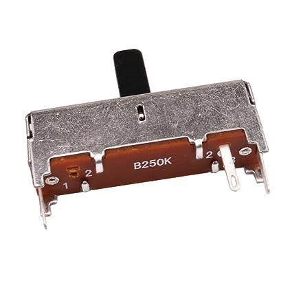 D DOLITY Potenciómetro de Guitarra Repuestos para Guitarras Eléctricas Volumen Control 36x34x8mm