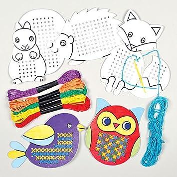 Cross Stitch Kit Rainbow Fish Card Kit
