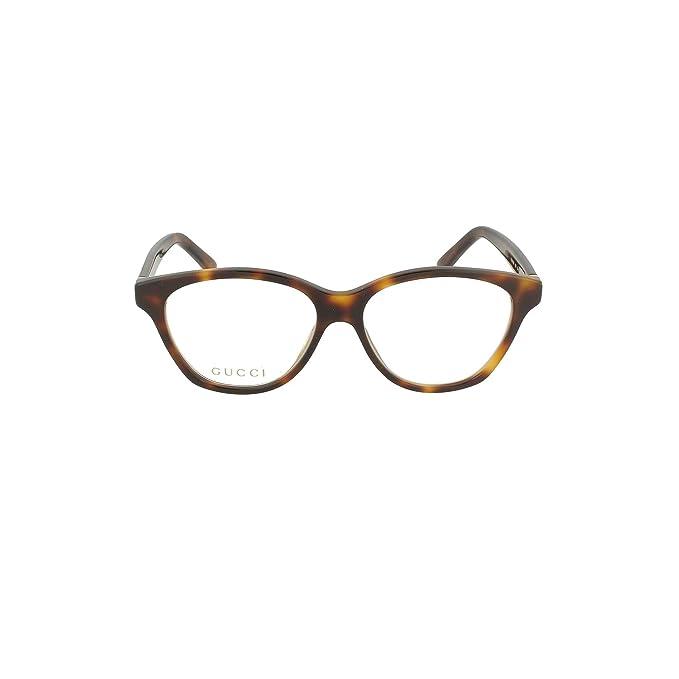 74304ff8d8 Gucci GG0456O HAVANA-GOLD-TRANSPARENT (003) - Monturas de gafas: Amazon.es:  Ropa y accesorios