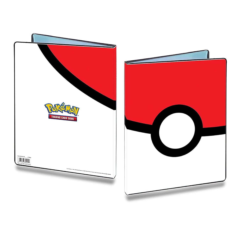 Pok/èmon /Álbum con Folios Ultra Pro con dise/ño de Pokeball con 9 Folios