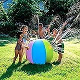 DAS Leben New Thickening PVC Water Spray Inflatable Ball - Beach Swimming Party Children Kids Summer Sprinkler