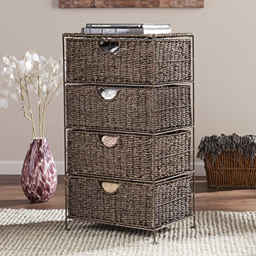Nancy Seagrass 4-Drawer Storage by FurnitureMaxx
