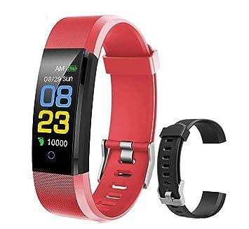 BOBOLover Smartwatch, Impermeable Reloj Inteligente Mujer Hombre ...
