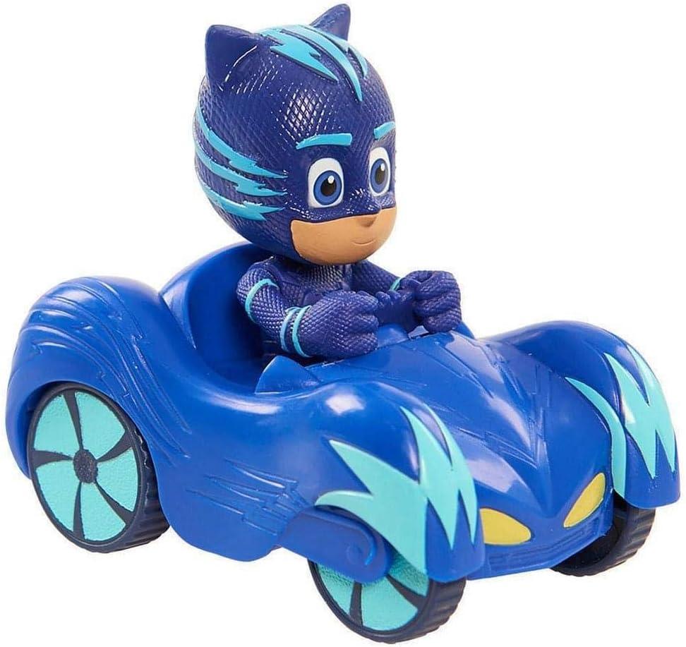 Blue PJ MASKS 24631 Mini Vehicle Catboy//Toys-PJ