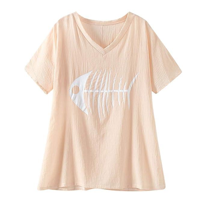 Alion Mens Summer T Shirt Short Sleeve Loose V Neck Lightweight Tee Tops