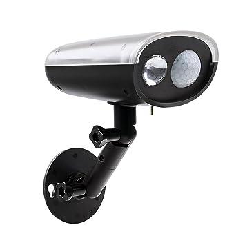 Solar inalámbrico LED con Sensor de movimiento, foco de seguridad con Sensor de movimiento y