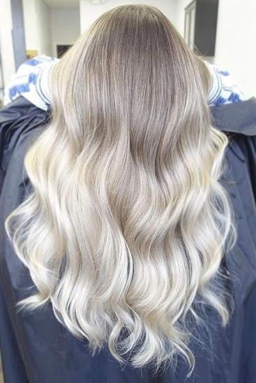 100% Real Hair Full Shine Clip In Human Hair Extensions 12inch Hidden 1pcs  Clip On Hair 70g Ash