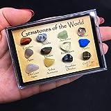 VORCOOL 15Pcs Mini Agate Raw Gemstone Collection