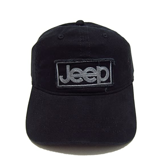 250046c72 Jeep Embroidered Logo Solid Color Adjustable Tactical Baseball Caps Hats  for Men and Women