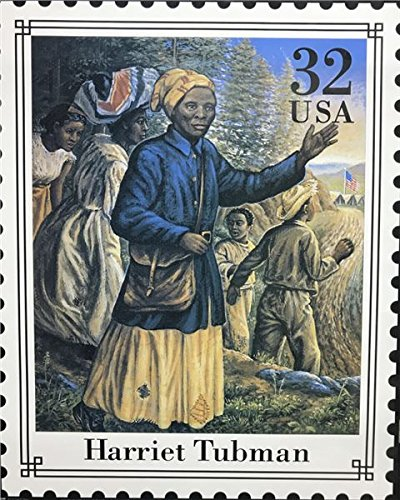 Unframed Print HARRIET TUBMAN STAMP (AFRICAN AMERICAN BLACK ART/MUSIC BLUES) Artist UNKNOWN 16x20 Black Art Print Poster (2- O- 16)