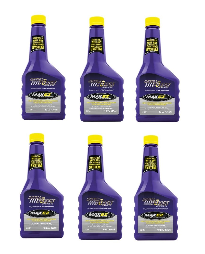Royal Purple Max EZ High Performance Synthetic Power Steering Fluid - 12 oz. (Case of 6)