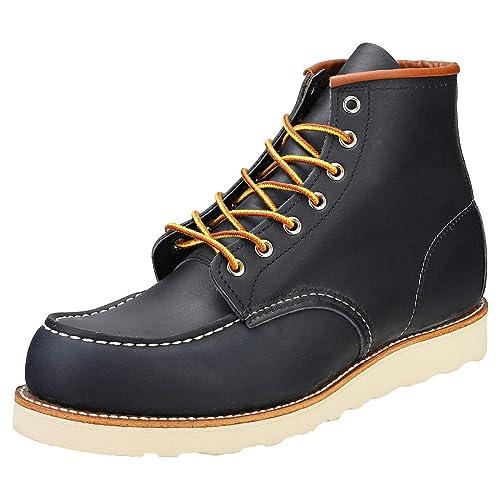 Rojo Wing Zapatos Classic Moc Azul Marino Hombres Botas-UK 8: Amazon.es: Zapatos y complementos