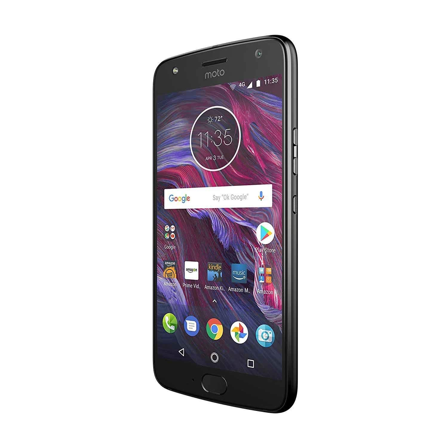 Moto X (4th Generation) - with Amazon Alexa hands-free – 32 GB - Unlocked – Super Black - Prime Exclusive by Motorola (Image #3)