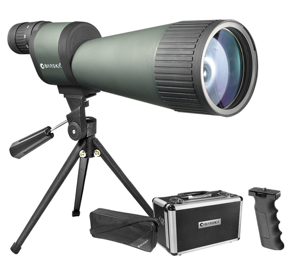 25-125x88 Spotting Scope Porro BK-7 All Purpose High Power Waterproof and Shockproof by BARSKA