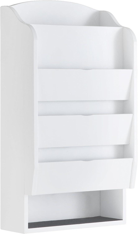 Proman Products WM17040 Door Entry Organizer, White