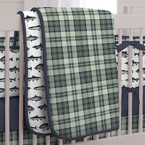 Carousel Designs Gone Fishing Crib Comforter ()