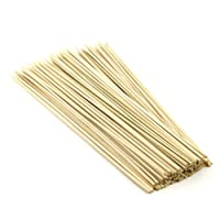 Sahibuy Shop Nester 100 Pcs 8 Inches Bamboo Barbecue Party Sticks