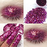 callm Shimmer Glitter Eye Shadow Powder Palette Sequin Matte Eyeshadow Cosmetic Makeup